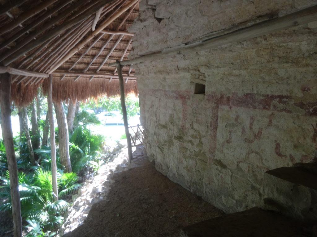 The Pyramid of the Birds at Xel-Ha Ruins, Quintana Roo