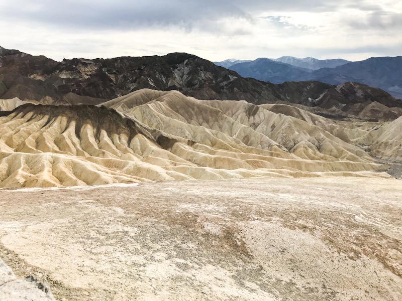 Death Valley - view from Zabriskie Point
