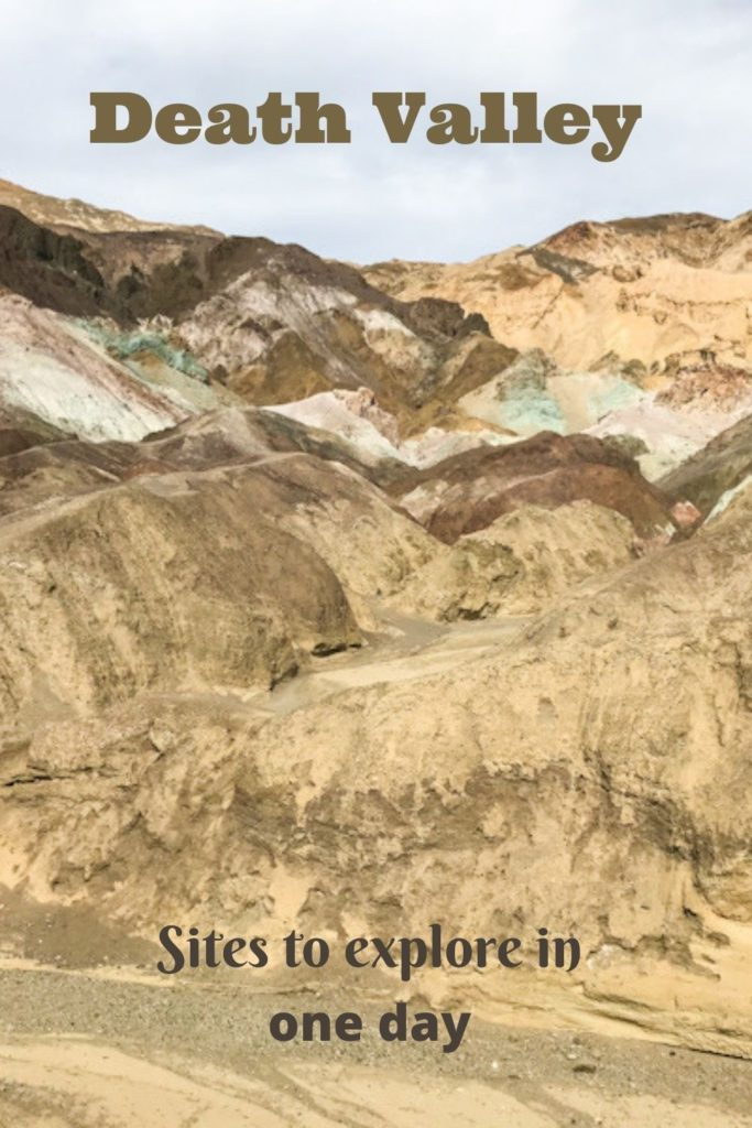 Death Valley - sites to explore in one day