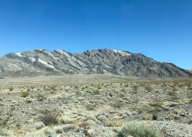 Death Valley - View from the main road