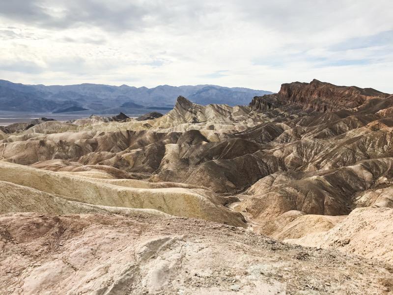 Death Valley. View from Zabriskie Point