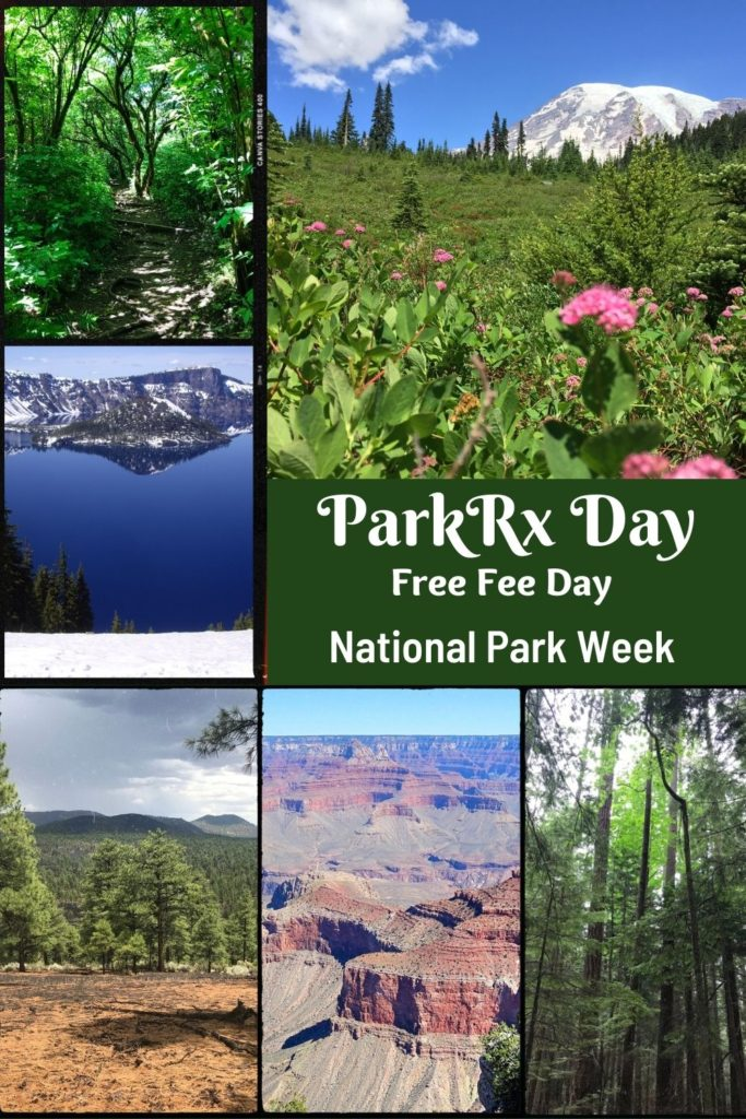 ParkRx Day is also the first day, the Free Fee Day of National Park Week
